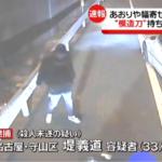 堤義道 顔画像!2月にあおり運転、模造刀で暴行 ついに逮捕される。日進市北新町 東名高速道