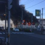 【画像あり】葛飾TSUTAYA水元店が火事…原因は?女性店員が怪我。JR金町駅