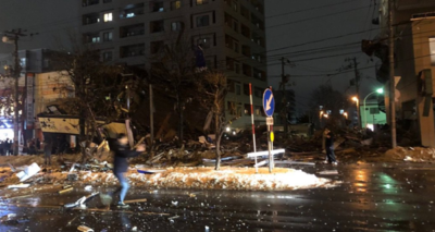 札幌市「海さくら」爆発後の様子