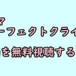 ドラマ「パーフェクトクライム」4話の動画無料視聴&ネタバレ!【見逃し配信・再放送】