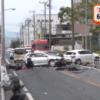 横浜市瀬谷区で事故 バイクに衝突で男性死亡。6台絡む現場映像が酷すぎる