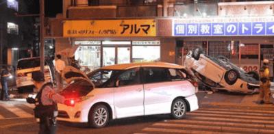 福岡市早良区百道の事故の画像目撃情報まとめ!プリウスミサイル「巻き込まれる寸前だった」